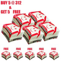 Smooth day Tissue Napkin 100 pcs in each Box, ( BUY 5 GET 5 FREE ) (30x30 CM)