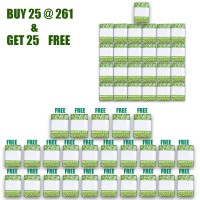 Smooth Day 2 PLY, Soft Pocket Facial Tissue - 20 sheet, 10 Ps in Each PKT ( BUY 25 GET 25 FREE )