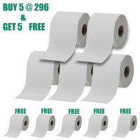 Smooth Day 2 Ply Toilet Paper/Tissue Roll - 300 sheet - ( BUY 5 GET 5 FREE )