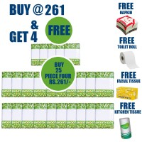 Smooth Day 2 PLY, Soft Pocket Facial Tissue - 20 sheet, 10 Ps in Each PKT (Pick n Pack Offer)
