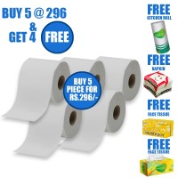 Smooth Day 2 Ply Toilet Paper/Tissue Roll - 300 sheet - (Pick N Pack Offer)