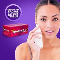 Smooth Day Facial big Box Tissue - Perfumed,Special Smoothness. Pathogen Protection(Combo 7 BOX,SFX- FX)